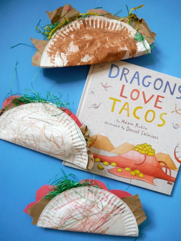 Cinco de mayo kid craft ideas... these taco paper plates are the cutest!