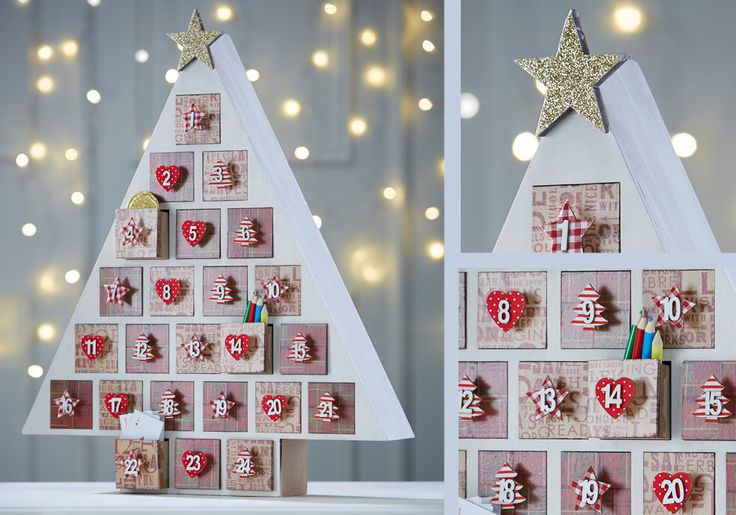 How to Make a Christmas Tree. Going to Hobbycraft as sson as they get the blanks in stock.