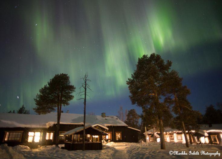 """Erähotelli Nellim – """"revontulihotelli"""" Inarinjärven rannalla"""