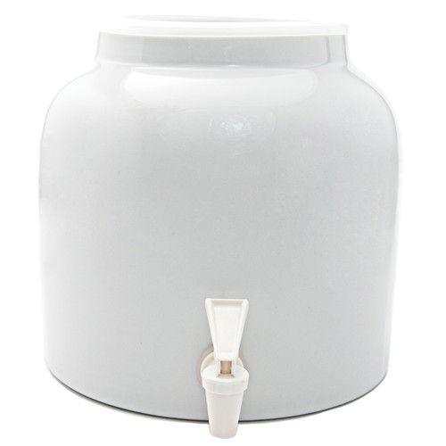 Found it at Wayfair - Water Dispenser Crock Beverage Dispenser