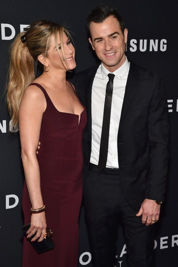 Jennifer Aniston And Justin Theroux At The Zoolander 2 Premiere
