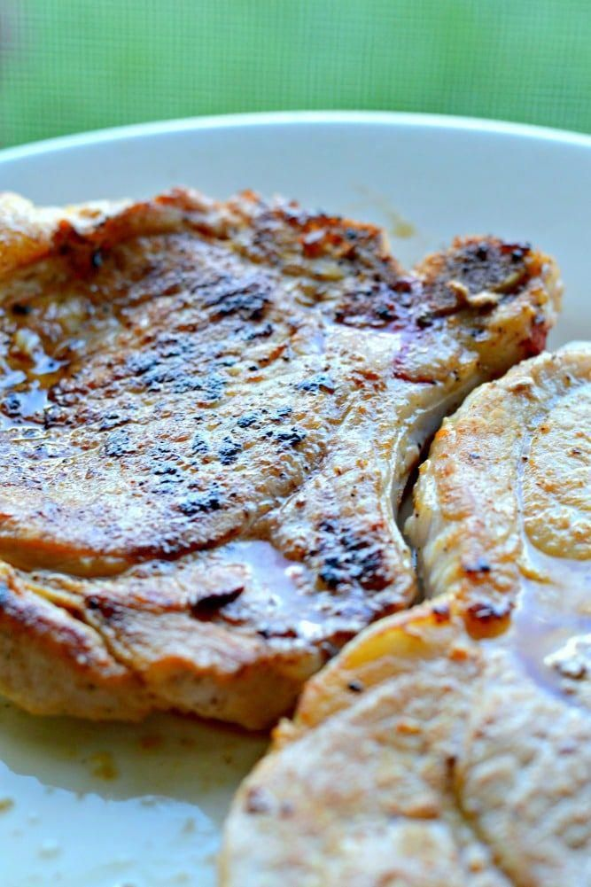 This post shares 3 simple ways to brine pork chops, and the importance of brinin…