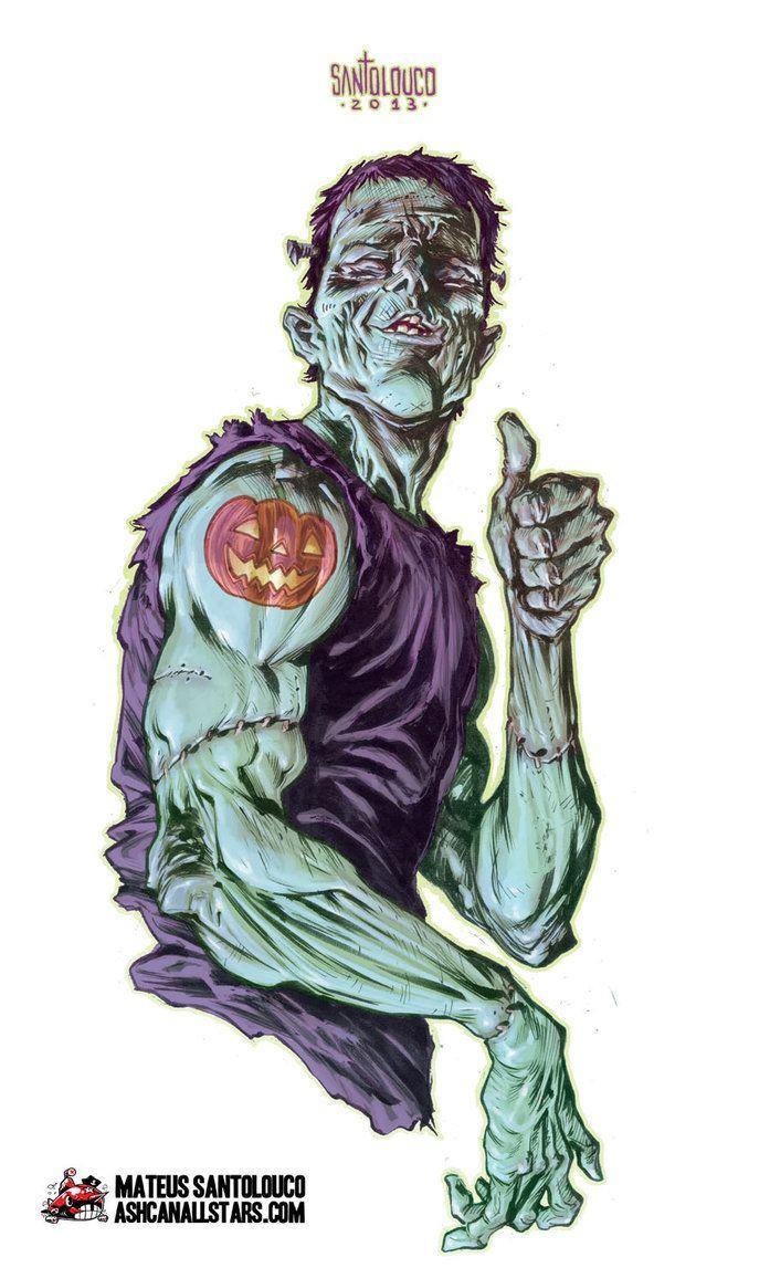 Jack O' Lantern Tattoo by Santolouco on deviantART
