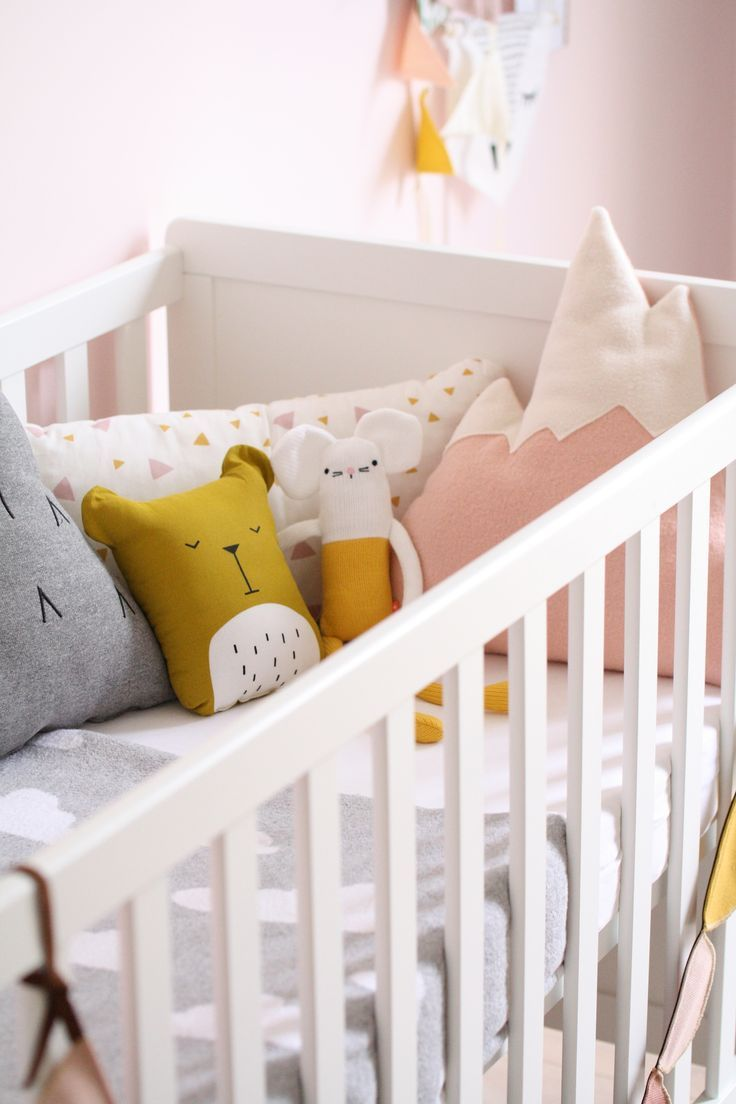 Baby S Room Colours Pink Yellow Mustard Grey Yellow Ochre