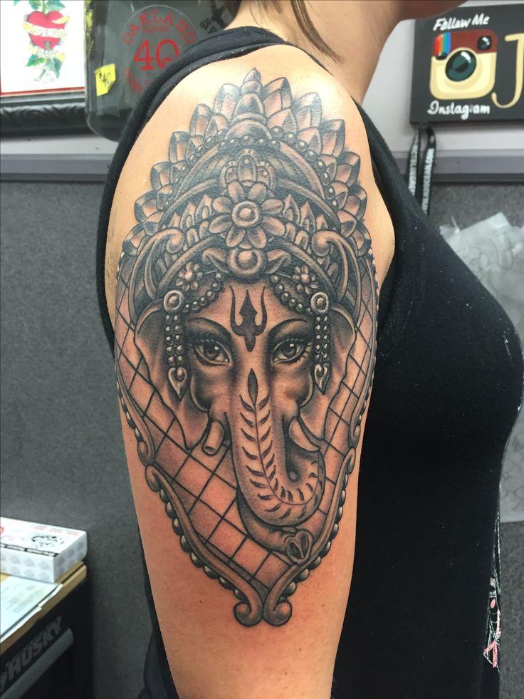 ganesh tattoo sleeve - photo #29