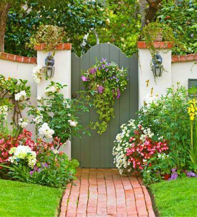 beautiful garden gate