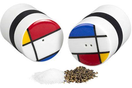 Mondri Ring Salt and Pepper Shaker Set by PO