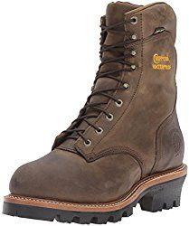 """Chippewa Men's 9″ Waterproof Insulated Steel-Toe EH Logger Boot  When it comes to making boots, Chippewa is a pioneer in this industry. Their boots are made using the best materials, construction techniques as well as the most innovative technology.  Many people refer this Chippewa Men's 9″ Waterproof Insulated Steel-Toe EH Logger Boot as """"super loggers"""" and for good reason."""