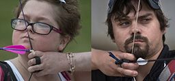 Siblings Michael and Emily Plummer use archery to help combat their disease—and Michael may fight his way to the Olympics. Learn more. http://healthbeat.spectrumhealth.org/putting-cystic-fibrosis-in-the-crosshairs-archery-cf/