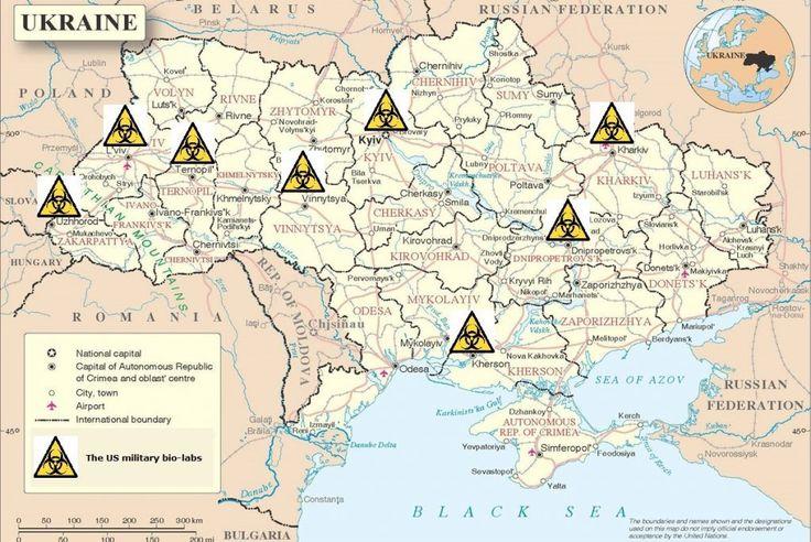 Laboratori Biologici dell'esercito USA in Ucraina