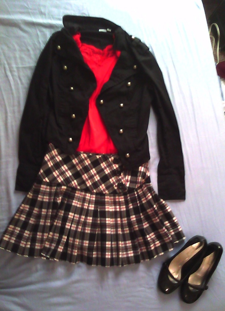Catholic School Girl outfit :)