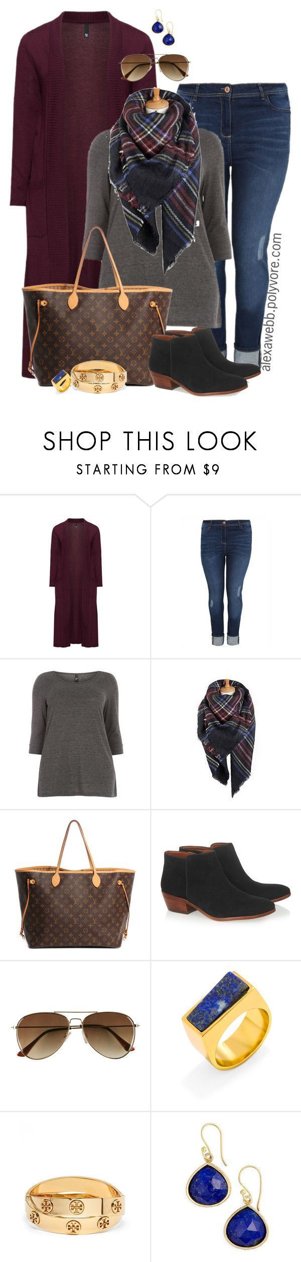 Plus Size – Fall Casual Outfit by alexawebb on Polyvore /alexandrawebb…