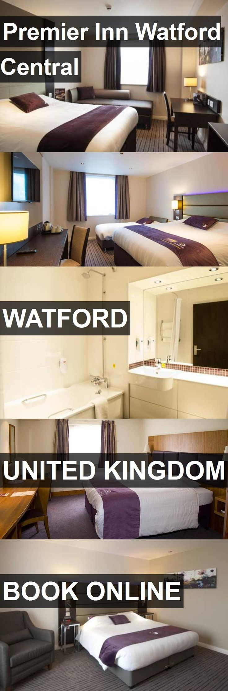 Hotel Premier Inn Watford Central in Watford, United Kingdom. For more information, photos, reviews and best prices please follow the link. #UnitedKingdom #Watford #travel #vacation #hotel