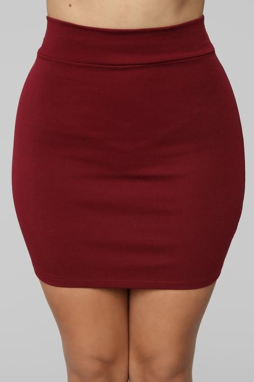 fc52ff573 Melanie Ponte Mini Skirt - Wine | fancy in 2019 | Mini skirts ...