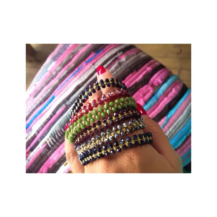 Glam up! #armcandy #new #colors #bracelets #Didadi #jewelry #handmade #accessories