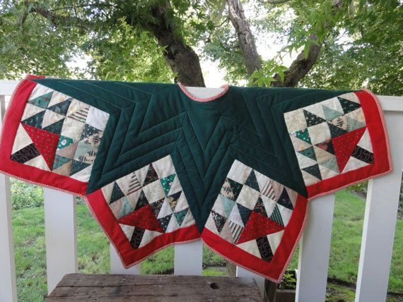 Christmas Tree Skirt Of Life Quilt Pattern By Threadbender64