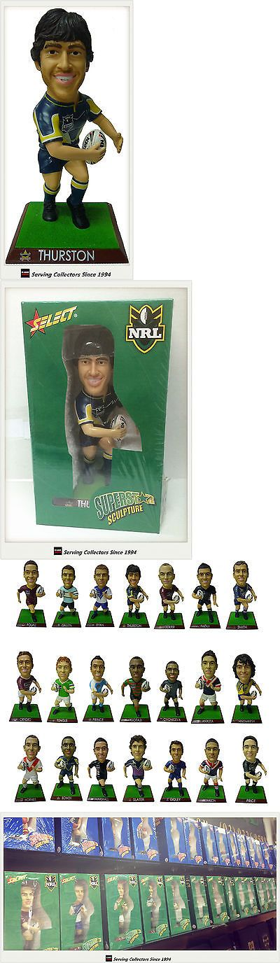 Rugby League NRL Cards 25583: 2009 Select Nrl Superstar Sculpture Johnathan Thurston (Cowboys) -> BUY IT NOW ONLY: $45 on eBay!