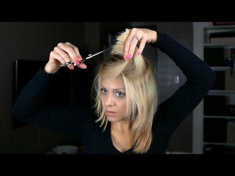 DIY: At Home Soft Long Layer Haircut - YouTube