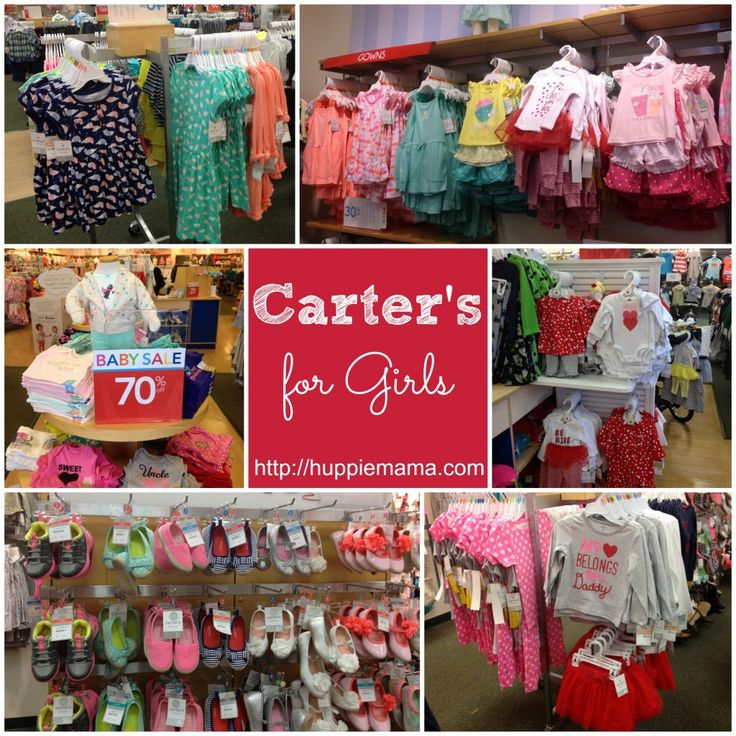 Carter's clothing for Girls