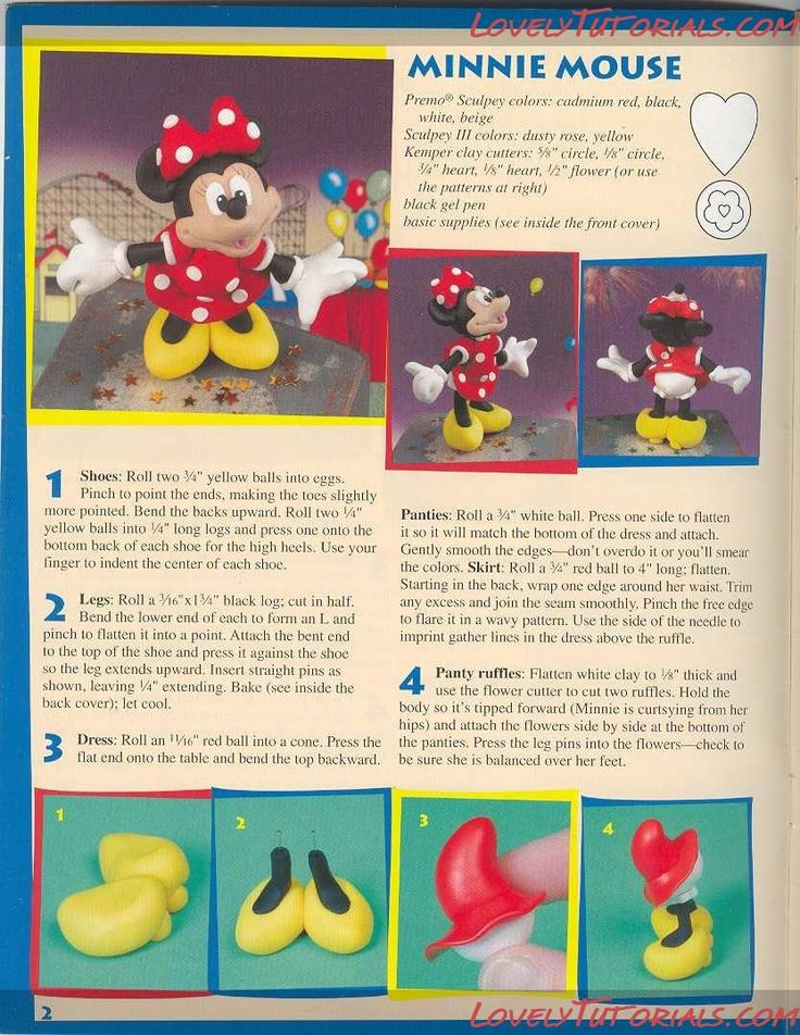 Mickey Mouse figure tutorial on cake
