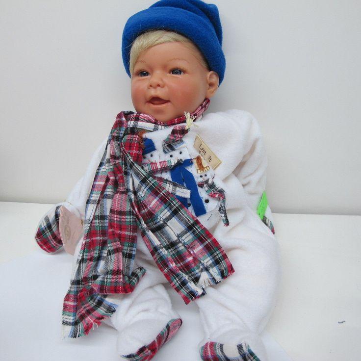 Vintage 2000 Lee Middleton Boy Let It Snow Baby Doll Reva