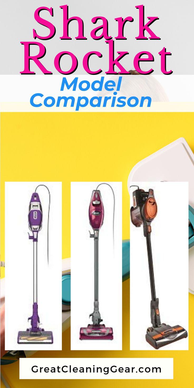 Shark Rocket Model Comparison, HV301, HV302, HV305, HV321