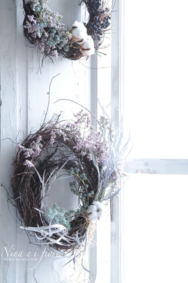 Nina e i Fiori_  ghirlanda _  wreaths.  www.ninaeifiori.com