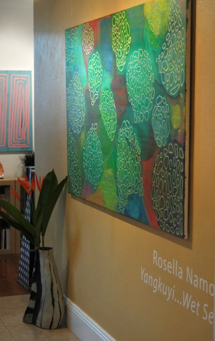 Rosella Namok's latest exhibition at Coo-ee Gallery