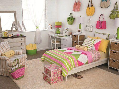 Preppy Chic Designer Dorm Room