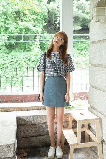 Saloon Skirt | Korean Fashion