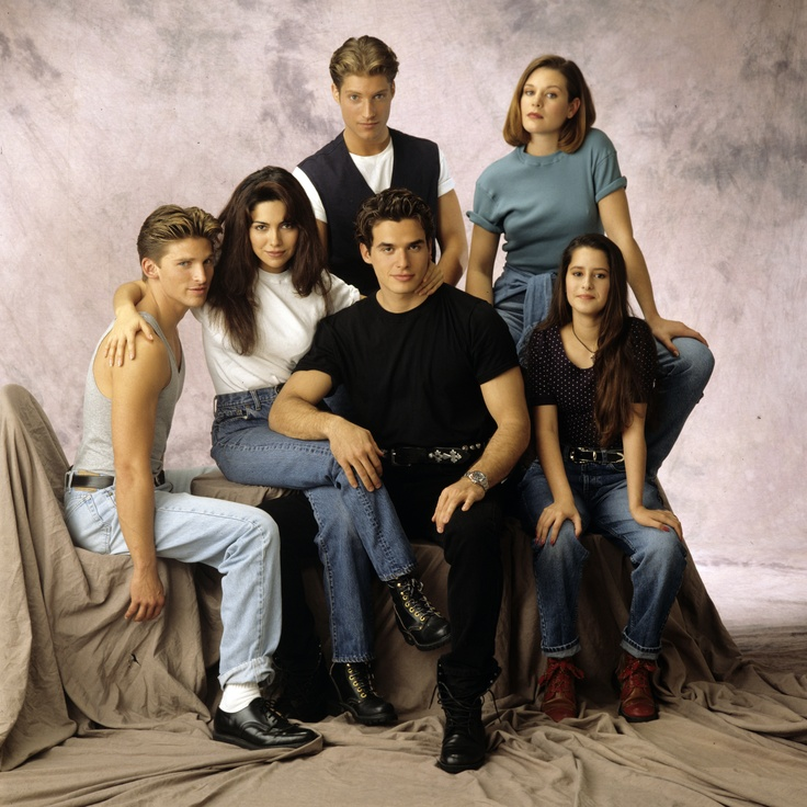Remember when...they were babies. Antonio Sabato Jr., was Jagger, Vanessa Marcil (Brenda), Sean Kanan (AJ) Steve Burton (Jason) Kimberly McCullough (Robin) and Cari (Karen). Those were the days <3