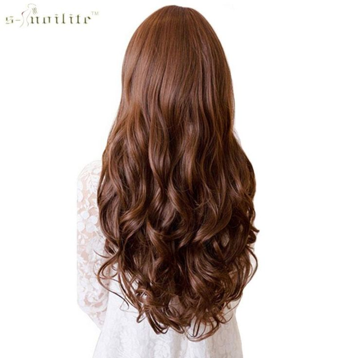 SNOILITE 17/24/28/30″ Long Curly Synthetic Clip in Hair Extensions Half Full Head Hairpiece One Piece Black Brown Blond colors  17/24/28/30″ Long Curly Synthetic Clip in Hair Extensions Half Full Head Hairpiece One Piece Condition: Brand New Item Material: High Temperature...