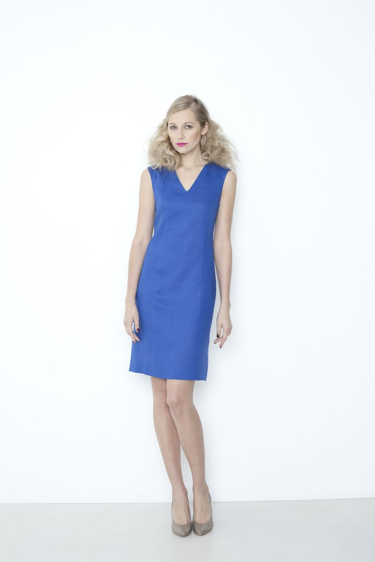 Ocean Dress - pacific blue