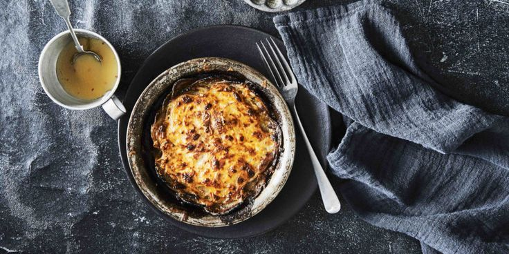 I Quit Sugar - Haloumi Potato Pie