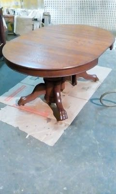 Before And After Oak Dining Table Dining Table Oak Dining