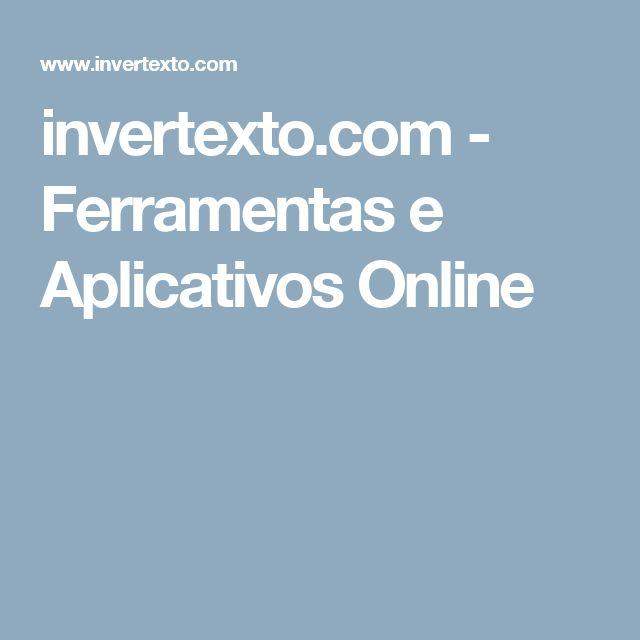 invertexto.com - Ferramentas e Aplicativos Online