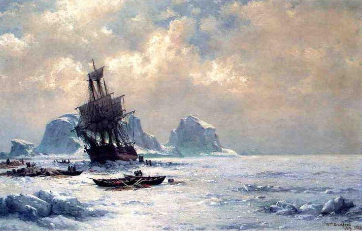 Caught in the Ice William Bradford (1882)