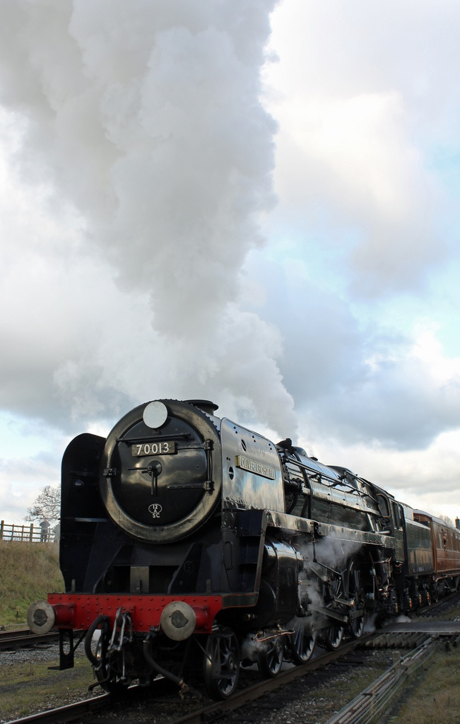Oliver Cromwell, 70013, looks like its on the great central
