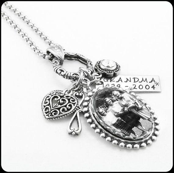 84 best personalized memorial jewelry images on pinterest memorial loss necklace keepsake necklace photo keepsake pendant personalized keepsake memorial pendant aloadofball Gallery
