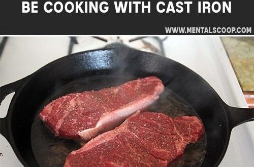 5 Reasons You Should Be Cooking With Cast Iron   In recent years there has been some debate about...