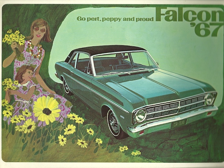 The Cover To A Sales Brochure For The 1967 Ford Falcon.