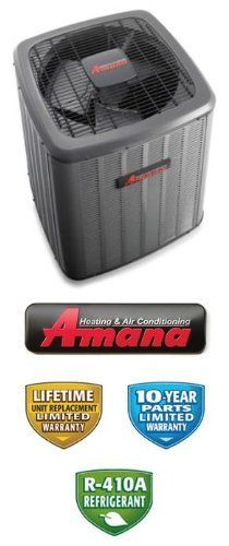 2.5 Ton 14 Seer Amana Air Conditioner - ASX140301 by Amana. $1259.00. Single Stage Air Conditioner (R-410A) Condenser for split systems provides efficient cooling. Does not provide heating. Pair with matching air handler for best results. Contact us for assistance in finding correct air handler if needed.. Save 29%!
