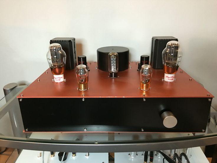 Ode Amps. 300B SE tube amplifier