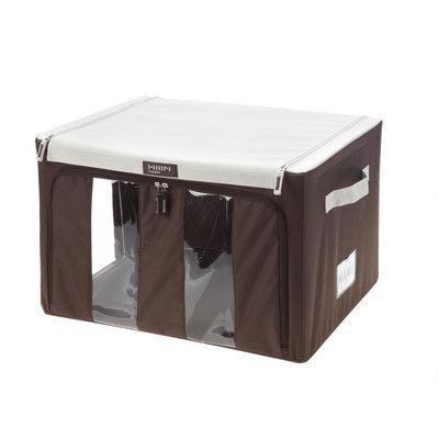 MJM International Collapsible Storage Bin with Handles Size: