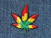 Reggae Hemp  Patch