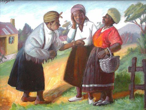 The artwork of George Pemba.