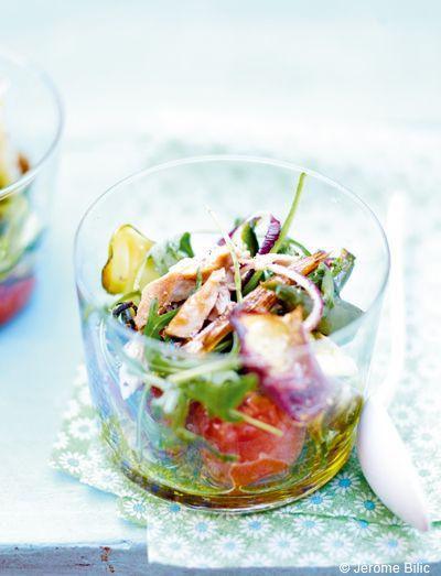 Légumes grillés et thon frais pour 6 personnes - Recettes Elle à Table