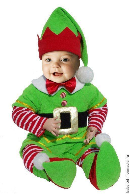 Купить Костюм Эльф - костюм для фотосессии, карнавальный костюм, костюм на новый год, костюм для малыша