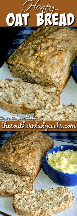 PRINT Honey oat bread is an easy quick bread that is so good straight from the oven spread with butter. Serve it for breakfast with coffee or with any meal for a treat your family …