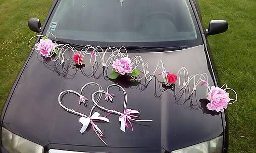evinocka11 / výzdoba svadobného auta 1